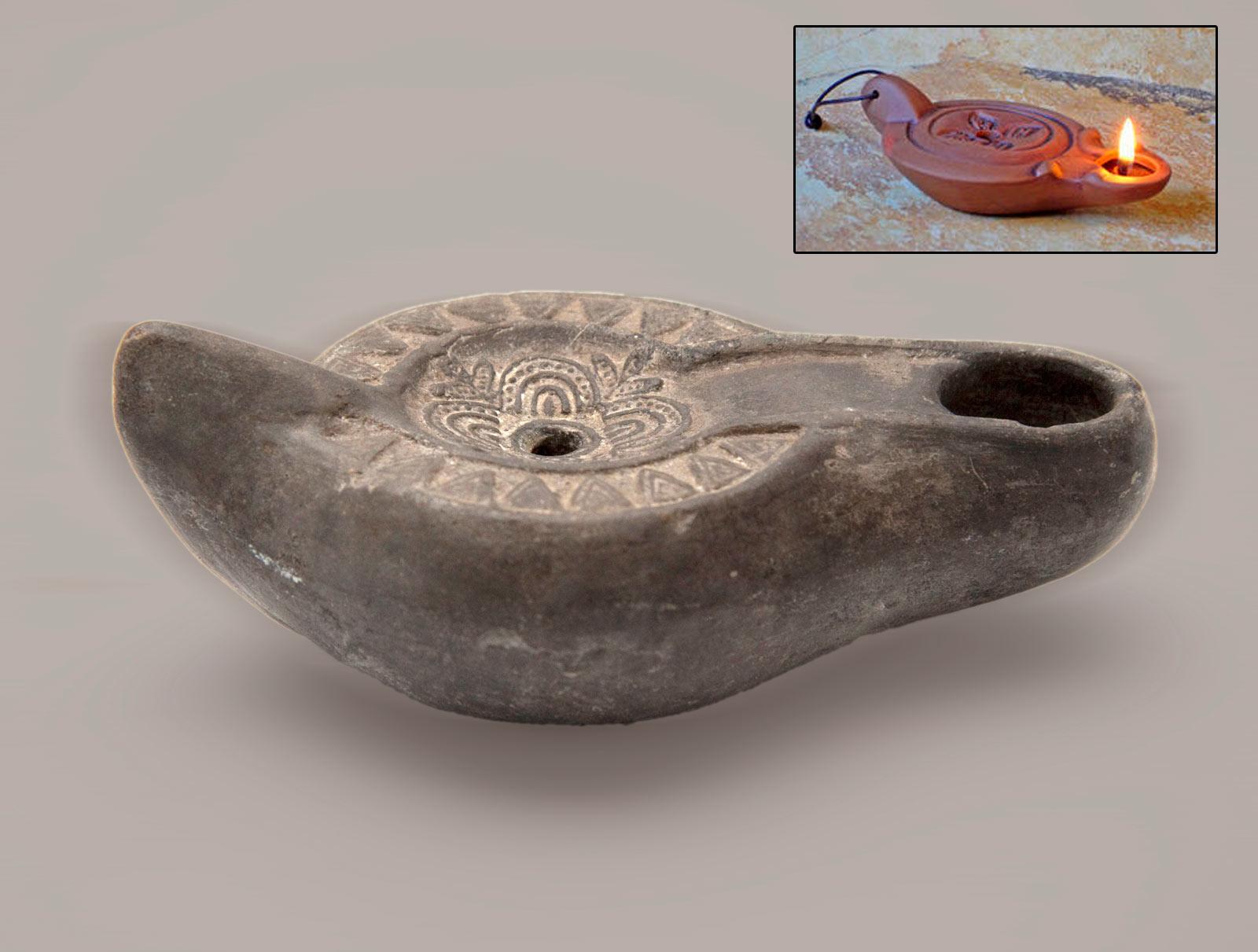 Lamp, unknown author, Heraclea Lyncestis