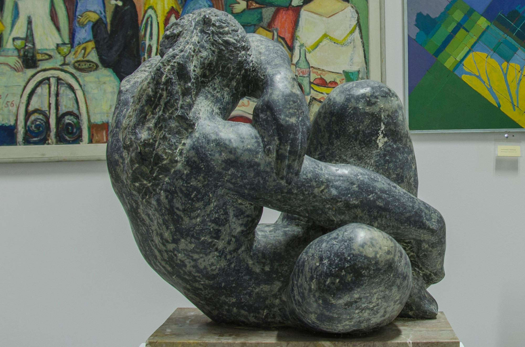 """Уметничка скулптура –""""Скулптура на жена""""- современа уметност, автор Војкан Јовановиќ"""