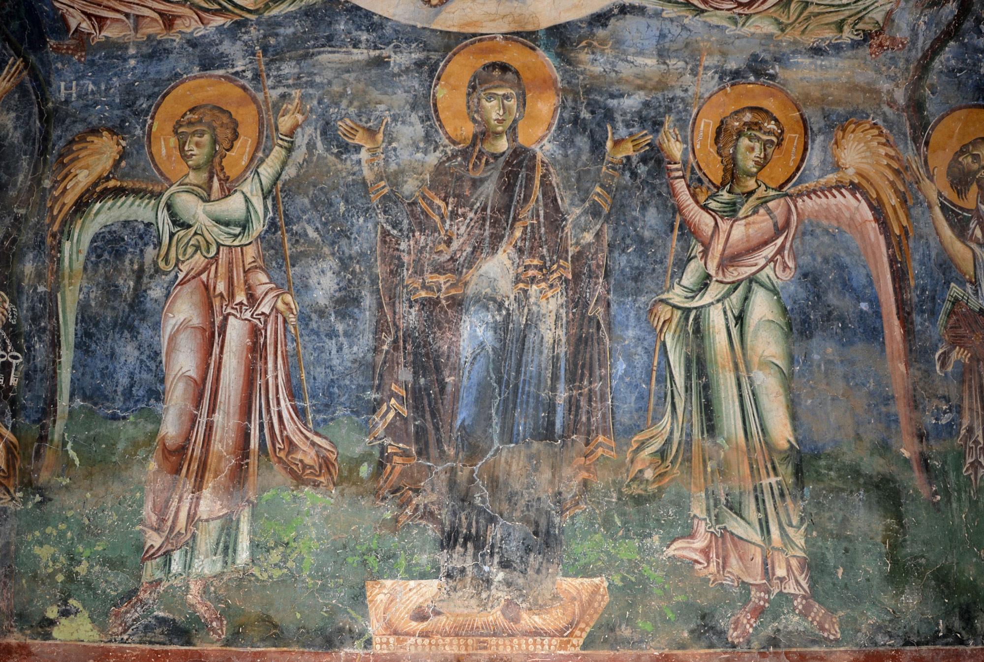 Фреска од црквата Св. Ѓорѓи од с. Курбиново