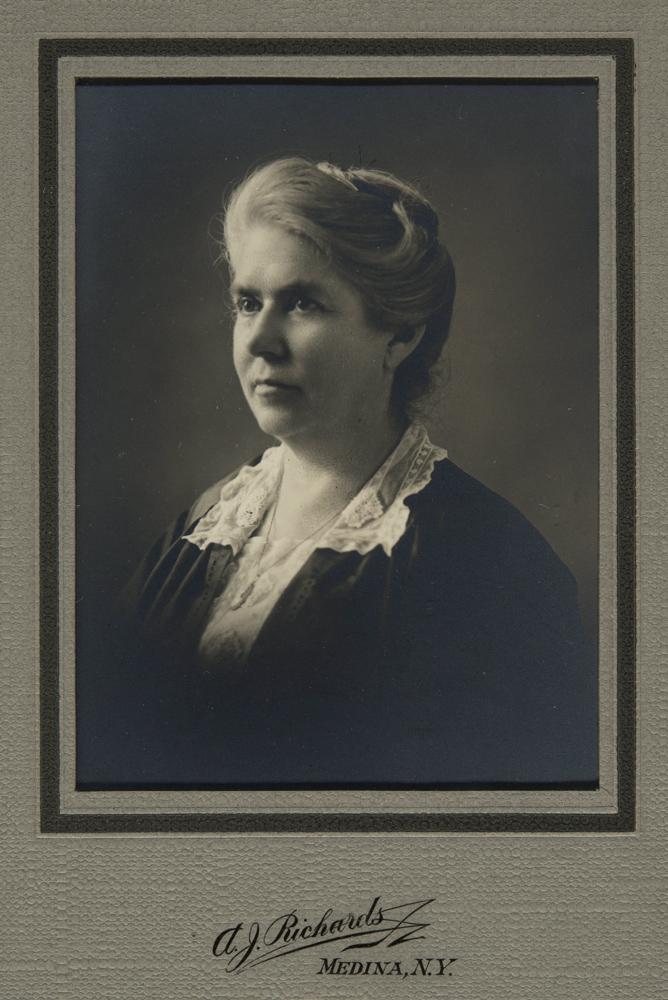 Portrait of Mary Matthews, September 1922