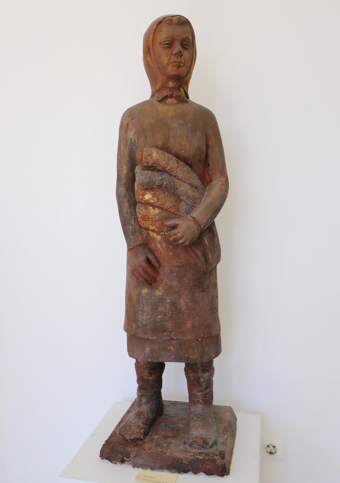 """Уметничка скулптура """"Жетварче"""""""