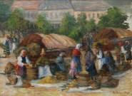 Vera Veslovschi_Targ taranesc in Centrul vechi