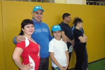 Папа,мама, я спортивная семья