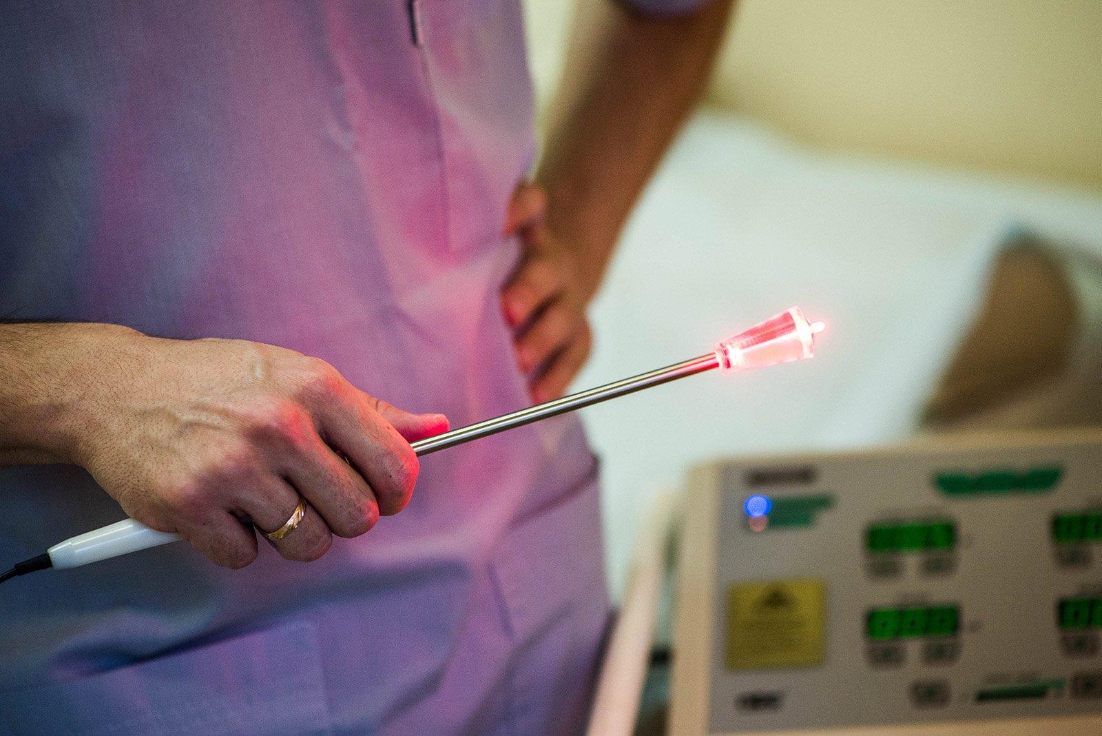 Низкоэнергетическая лазерная терапия при простатите народная медицина лечения хронического простатита