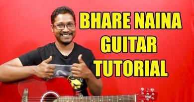 Bhare Naina (Ra One) – Guitar Tutorial #ColourfulChords | Full Lesson | Live Version