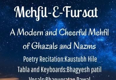 The Intimate Gigs Presents MEHFIL-E-FURSAT
