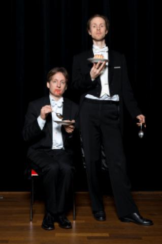 Pepijn Meeuws en Emile Visser