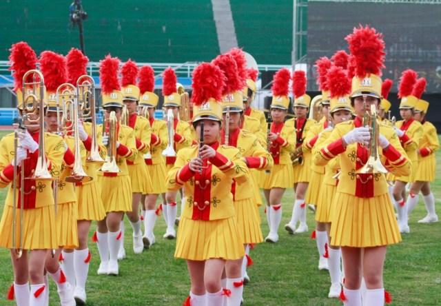 Taipei JingMei Girls'High School Marching Band (JMMB)  г. Тайбэй, Тайвань