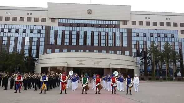VII Международный фестиваль духовых оркестров «Астана самалы»