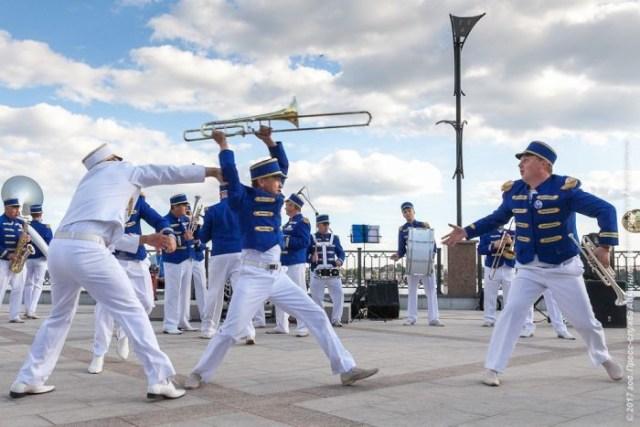 II Международный фестиваль-парад духовых оркестров