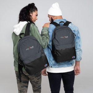 champion backpack heather black black 5ff0aa408b3e7