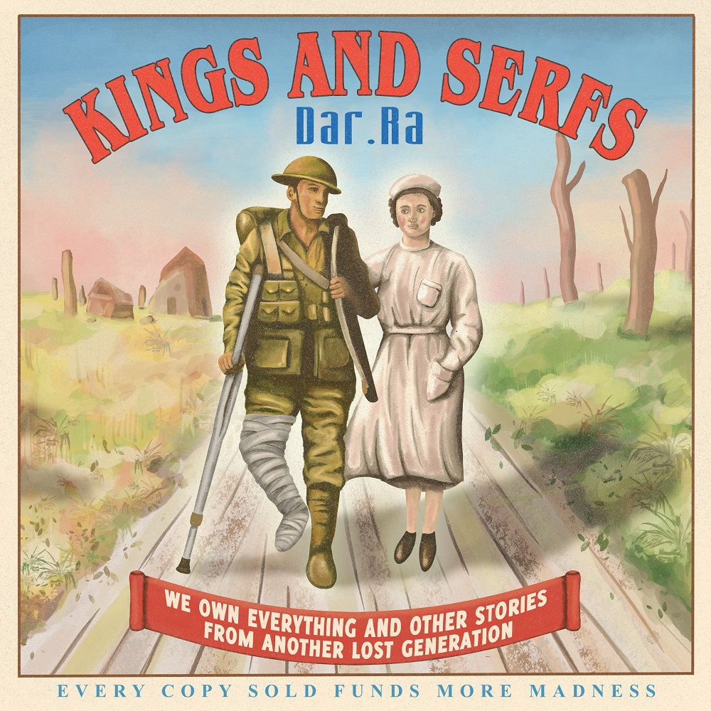 FEATURED EP, 'KINGS AND SERFS' BY DAR.RA, IS OUT NOW AND AVAILABLE TO STREAM ON ALL MAJOR STREAMING PLATFORMS!