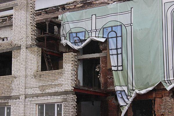 Тамбовская филармония приоткрыла занавес: как продвигается реконструкция