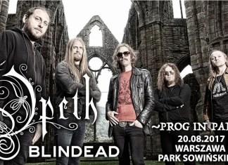 Opeth i Blindead gwiazdami Prog In Park