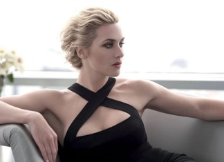 Kate Winslet sama się maluje i czesze. Nie ufa stylistom?