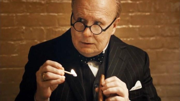 Gary Oldman doznał zatrucia nikotynowego, grając Winston Churchill