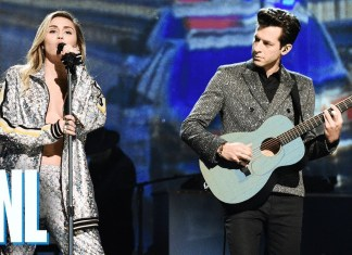 "Miley Cyrus i Mark Ronson w ""Saturday Night Live"" (WIDEO)"