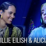 "Billie Eilish i Alicia Keys śpiewają ""Ocean Eyes"""