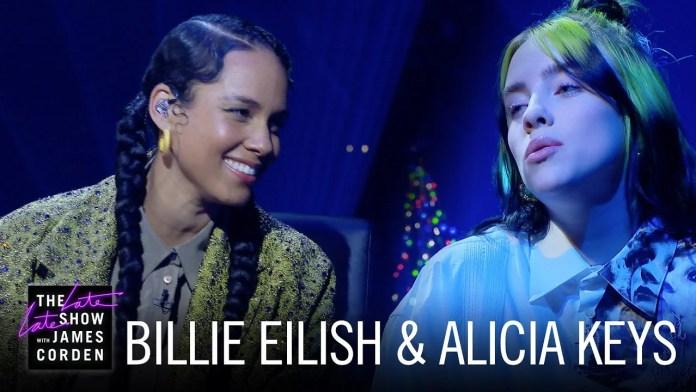Billie Eilish i Alicia Keys śpiewają
