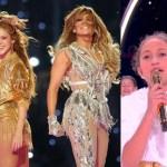 Super Bowl: Shakira i Jennifer Lopez z 11-letnią córka na scenie! NIESAMOWITE SHOW! (WIDEO)