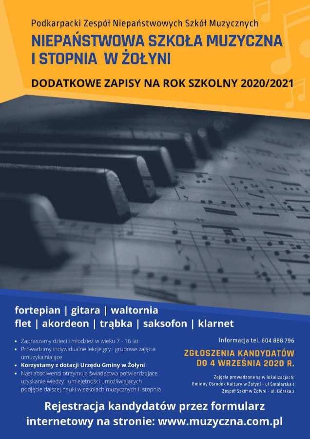 Plakat (dod) WWW - ŻOŁYNIA 2020