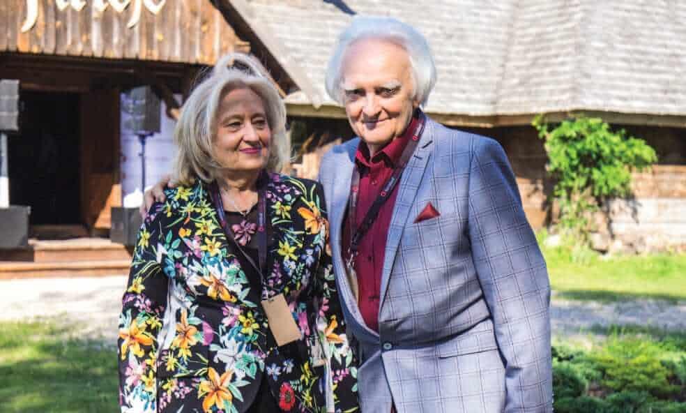 Magdalena i Włodzimierz Pospiech, założyciele Konsbud Audio