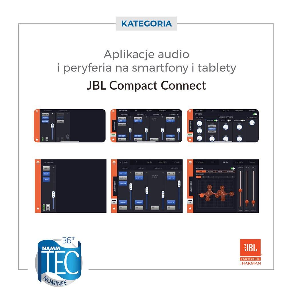 JBL Compact Connect App