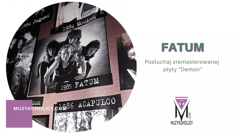 Zremasterowany Demon zespołu Fatum dostępny na portalach z muzyką