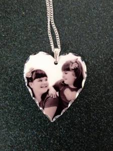 Custom Metal Photo Pendant 2