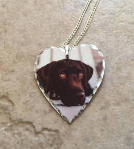Custom Metal Photo Pendant