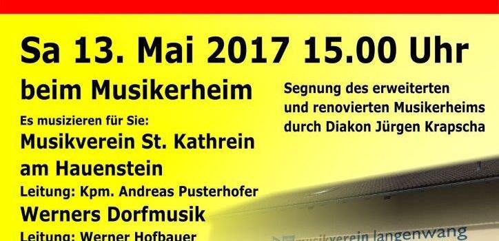 Tag der Blasmusik und Segnung des Musikerheimes