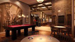 Perspectiva do Espaço Bourbon, Salão de Jogos do Jazz Princesa Isabel