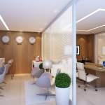 Perspectiva do lounge business do Duetto Graça