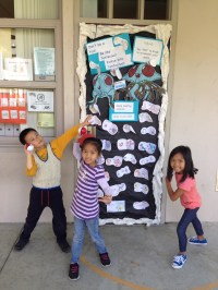 Red Ribbon Week Door Decorating Contest | Ms. Vallebo's ...