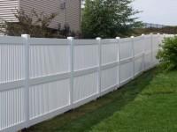 (Photo 10) 3-Rail Semi Privacy Picket Fence