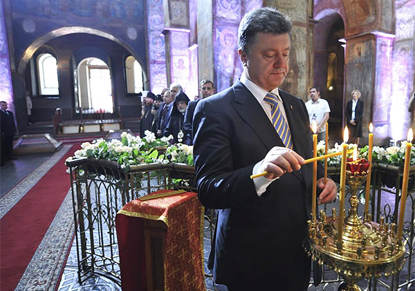 8 Petro Poroshenko church temple pray sworn inauguration President Ukraine MVasin Після інавгурації. Заживемо по новому?