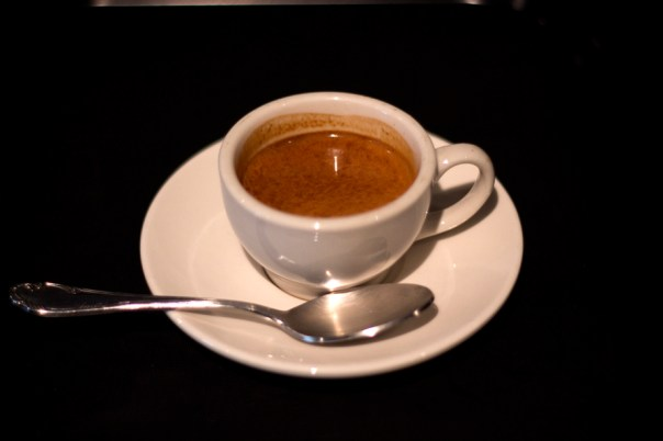 The Butterfat Trio, similarly the darkness in the creme gives away the darker flavor and possibility of robusta