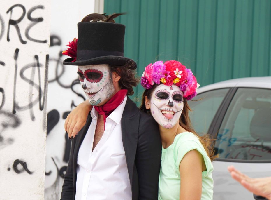 Fotografía durante la grabación de La Banda Oficial videoclip de Vikxie