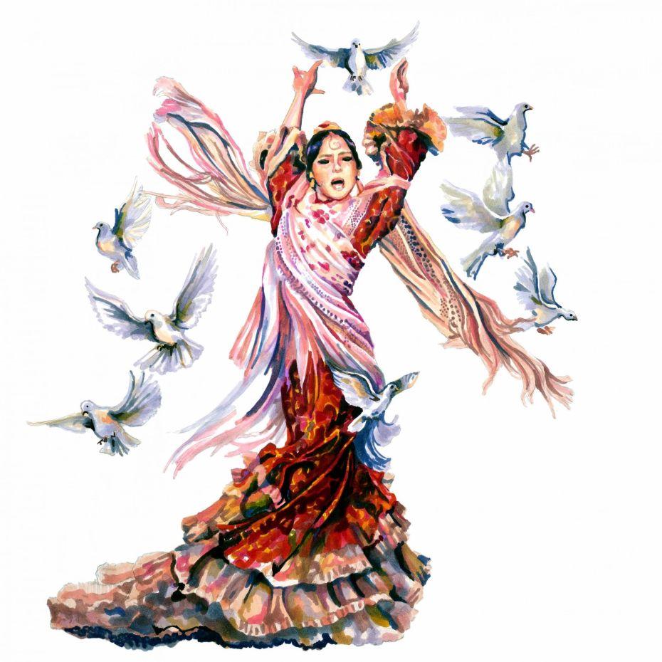 Macarena Ramirez. Ilustración de Pablo Velasco