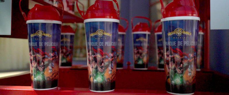 coca-cola parque warner vaso freestyle reportaje