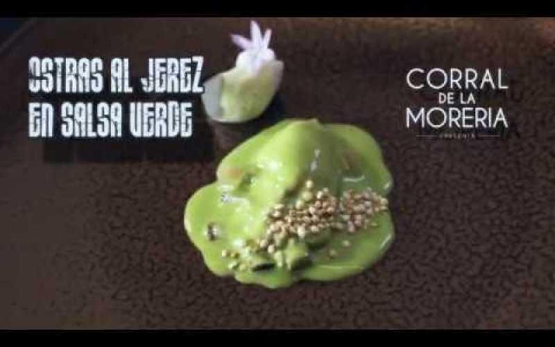 Ostras al Jerez con Salsa Verde   Chef David García Pereda   Tutorial