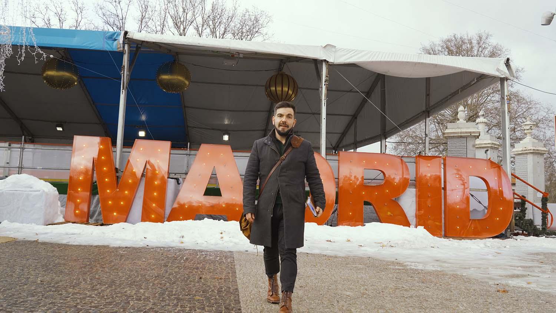 itinerarios al aire libre miguel zorita en madrid nevado