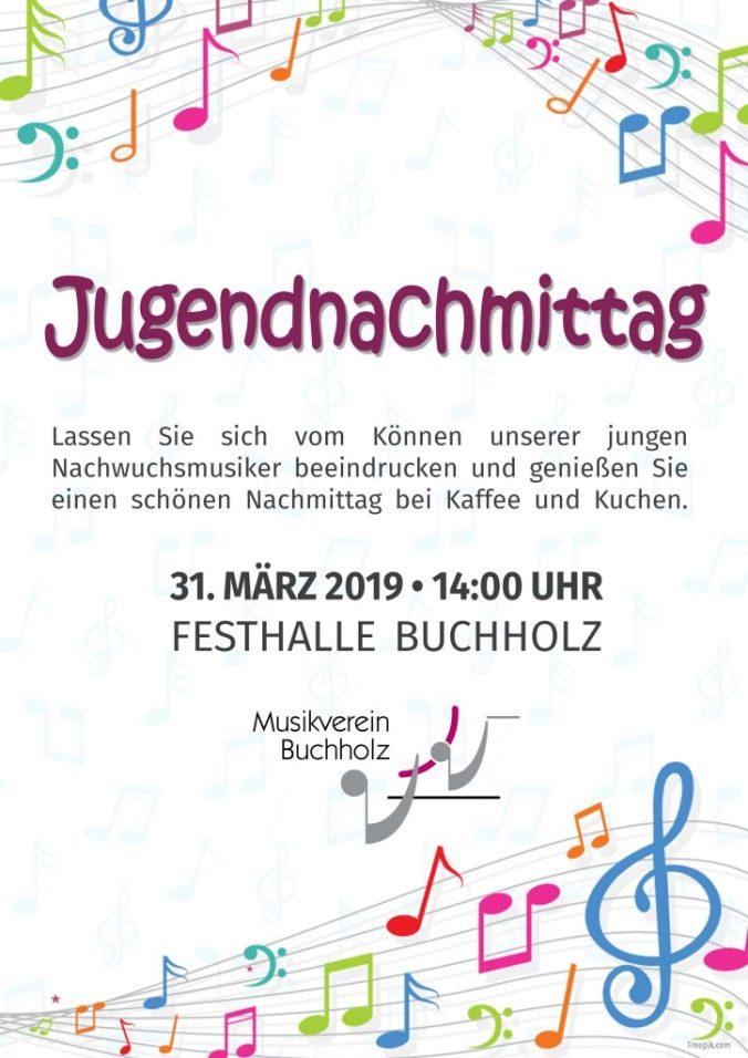 Plakat Jugendnachmittag 2019