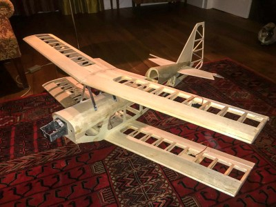 First assembly of the basic airframe