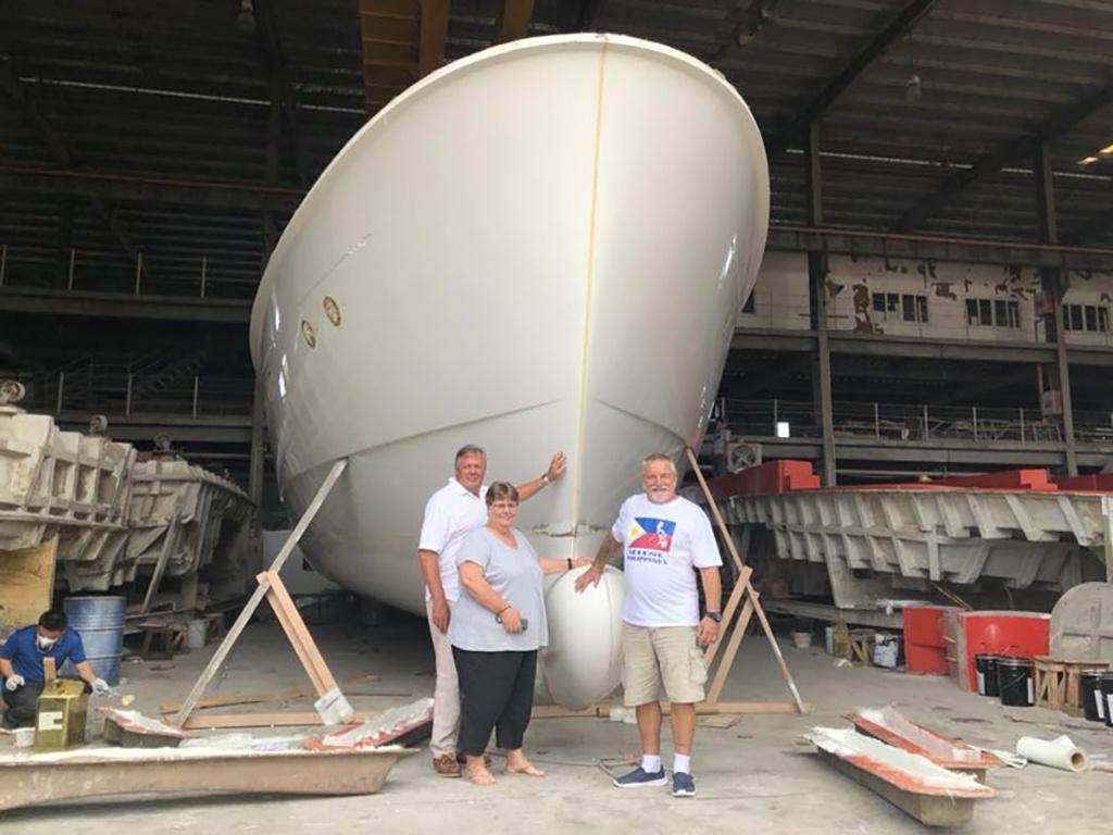 Selene 60 Trawler Underway
