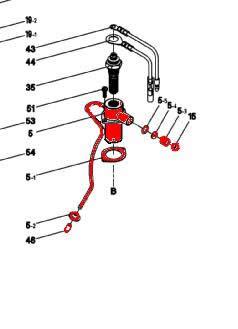 5) Glow Plug Boss Assembly