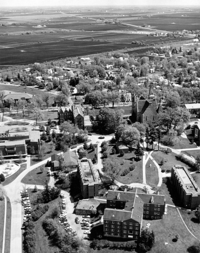 photo of Aerial Photograph of Cornell College