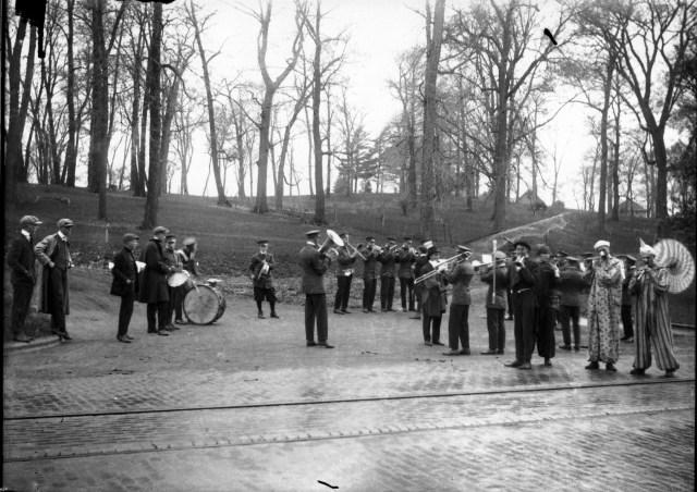 Cornell Band Practice