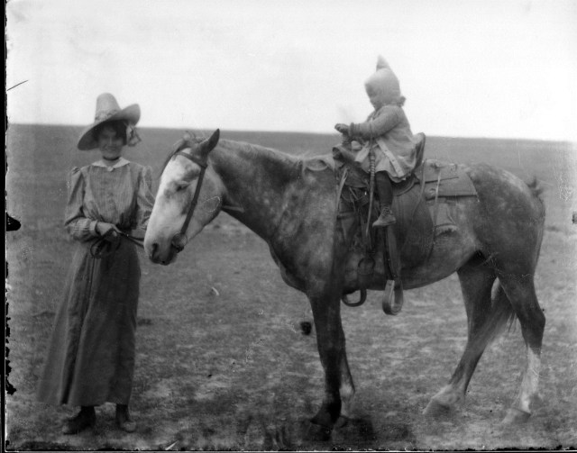 photo of Family with Horse