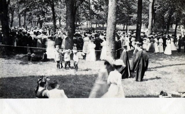 photo of Graduation Ceremony Postcard